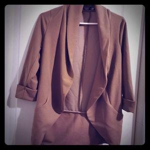 3/60$🧥 Lily Morgan Cute/work/casual Blazer Tan S